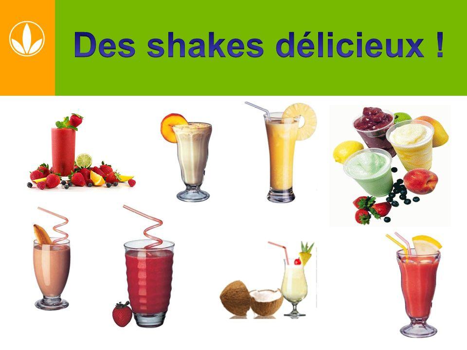 Des shakes délicieux !