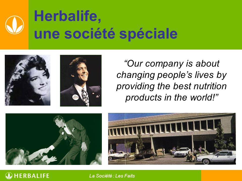Herbalife, une société spéciale