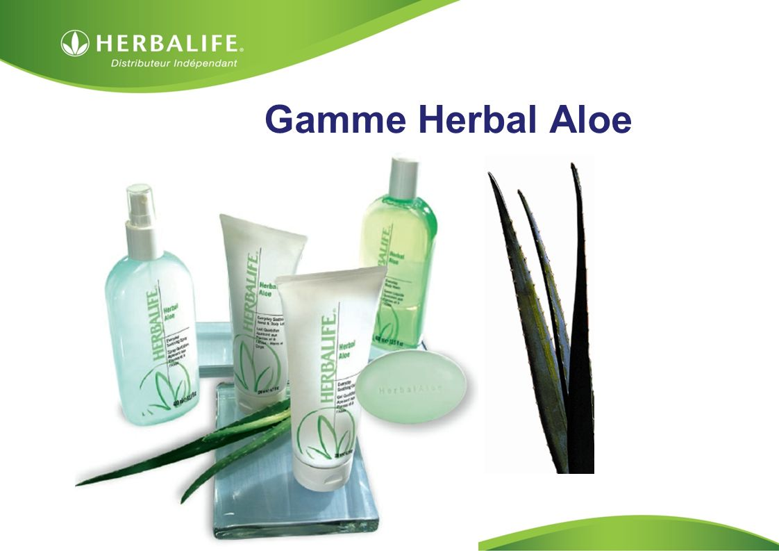 Gamme Herbal Aloe