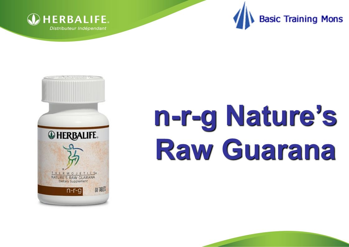 n-r-g Nature's Raw Guarana