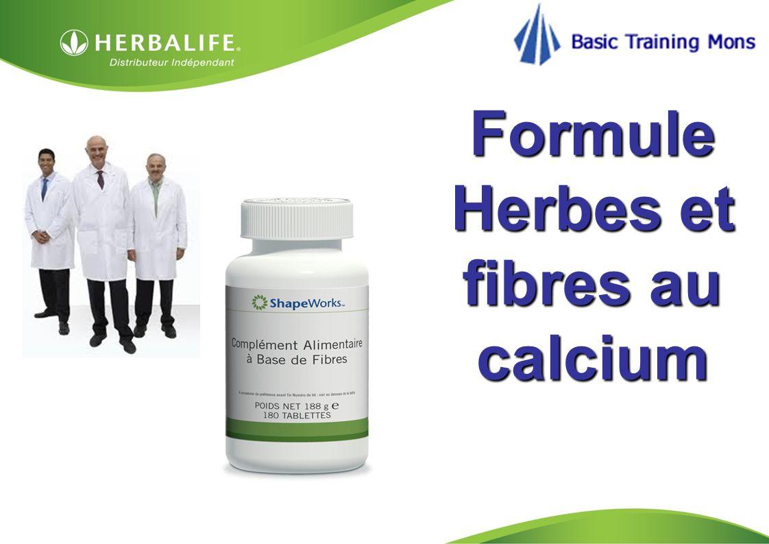 Formule Herbes et fibres au calcium
