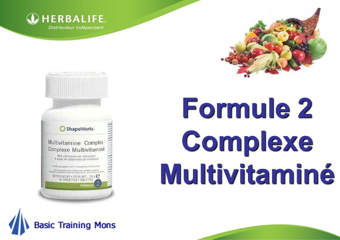 Formule 2 Complexe Multivitaminé