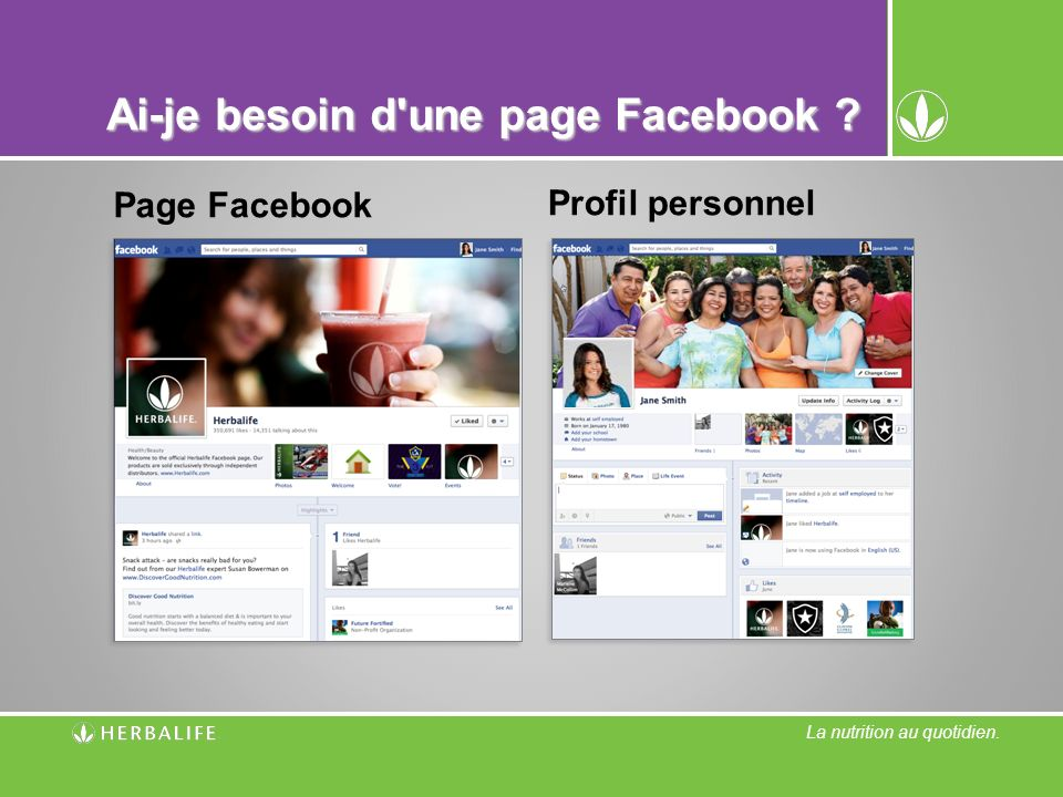 Ai-je besoin d une page Facebook