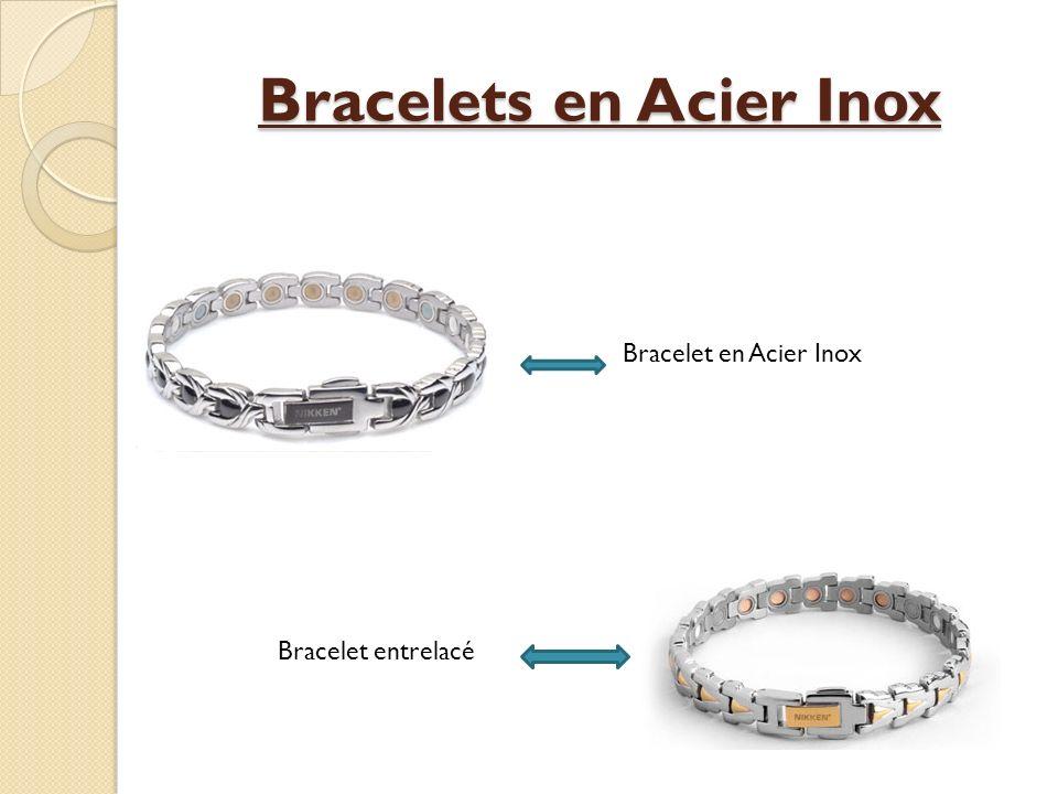 Bracelets en Acier Inox