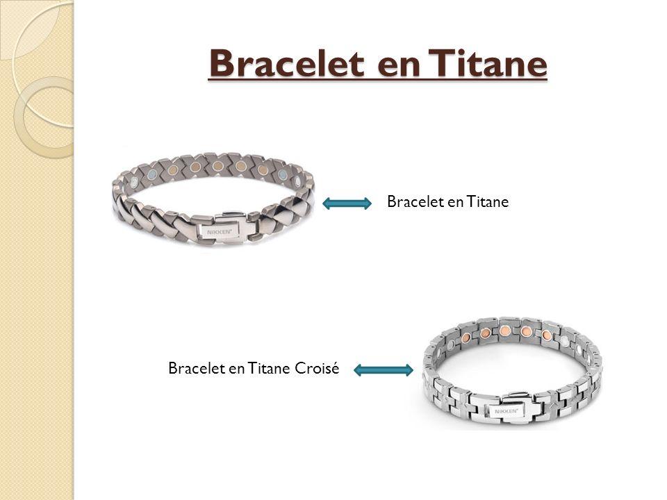 Bracelet en Titane Bracelet en Titane Bracelet en Titane Croisé