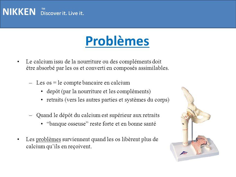 Problèmes NIKKEN Discover it. Live it.