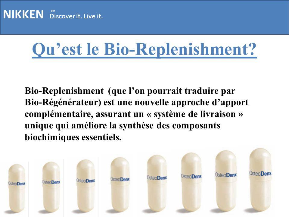 Qu'est le Bio-Replenishment