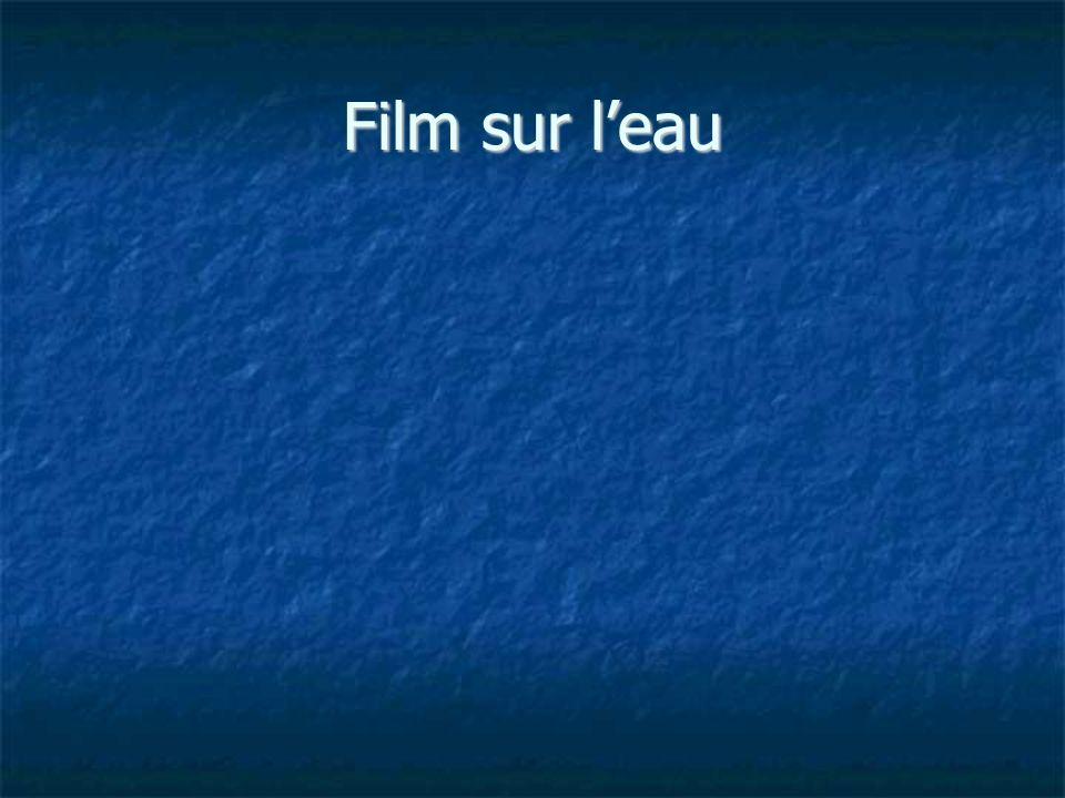 Film sur l'eau
