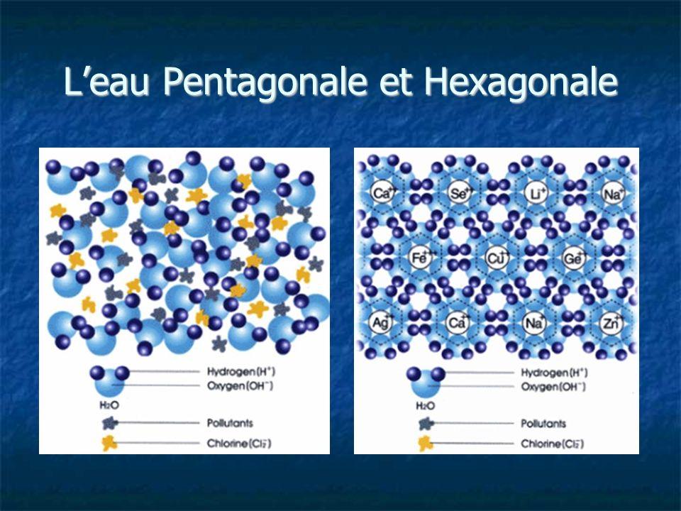 L'eau Pentagonale et Hexagonale
