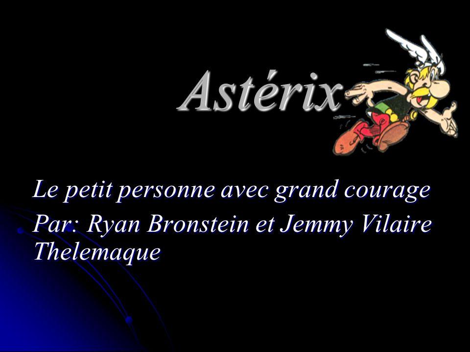 Astérix Le petit personne avec grand courage