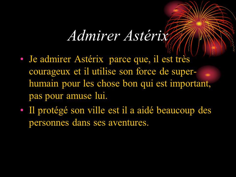 Admirer Astérix