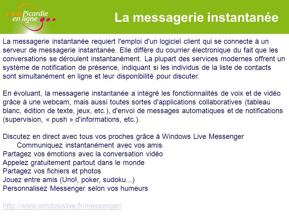La messagerie instantanée