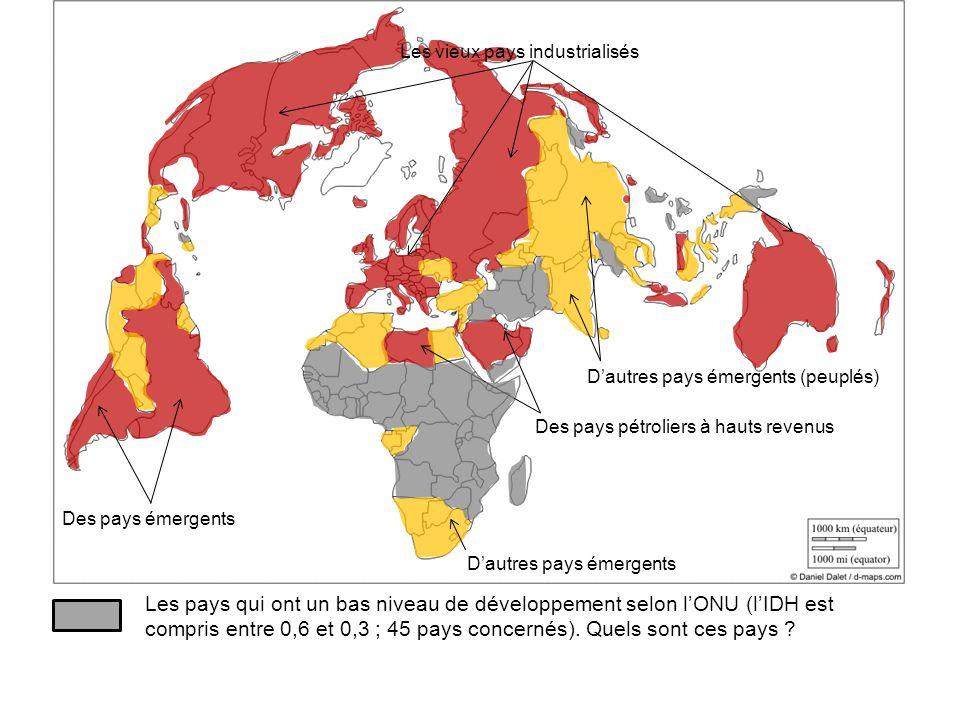 Les vieux pays industrialisés