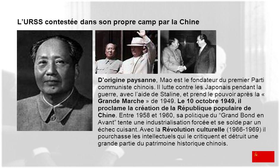 L'URSS contestée dans son propre camp par la Chine