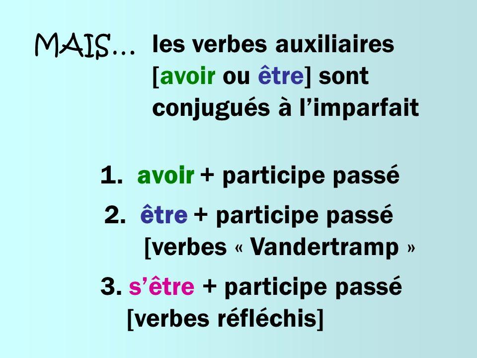 les verbes auxiliaires