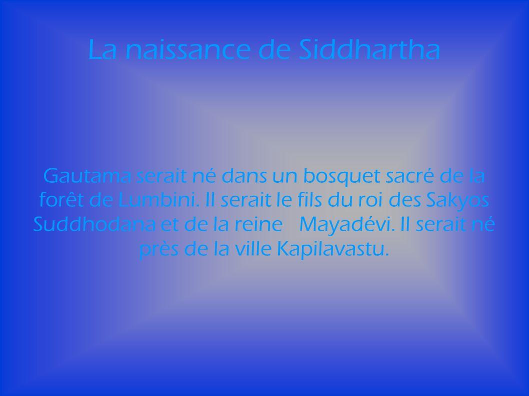 La naissance de Siddhartha