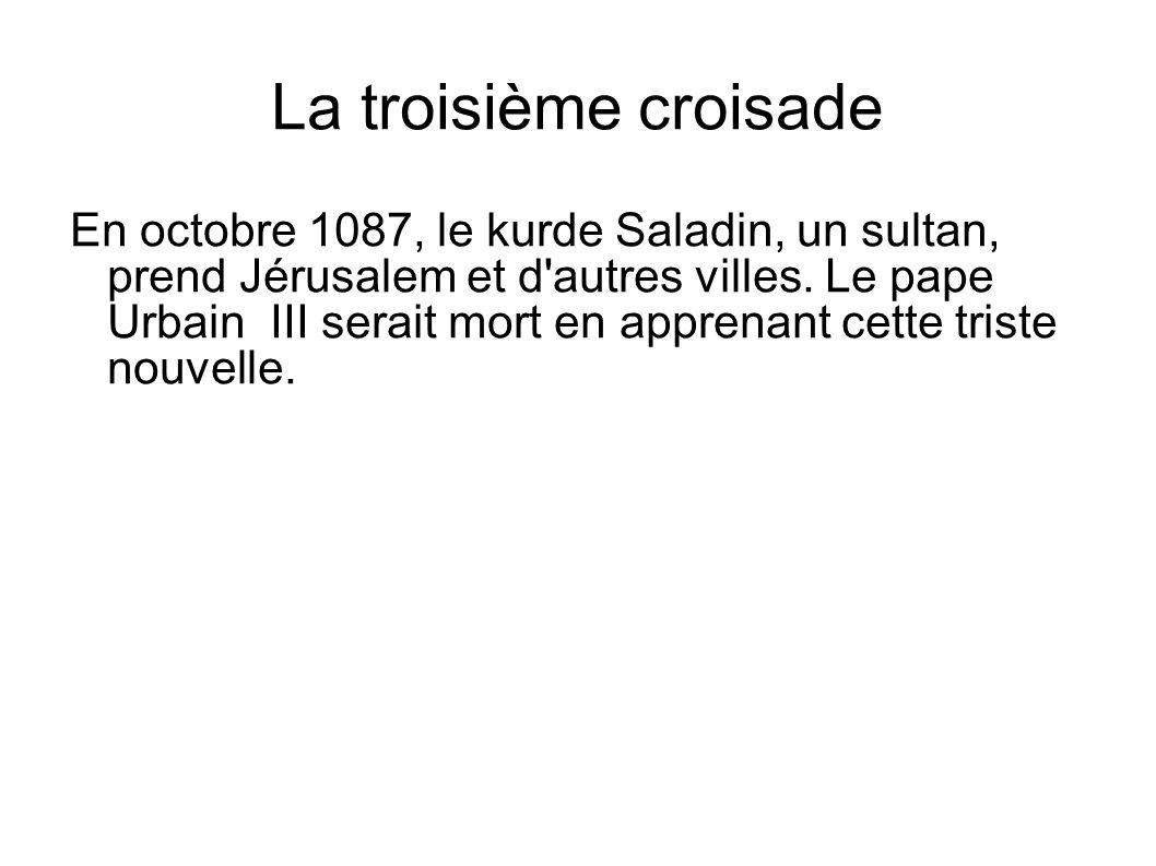 La troisième croisade