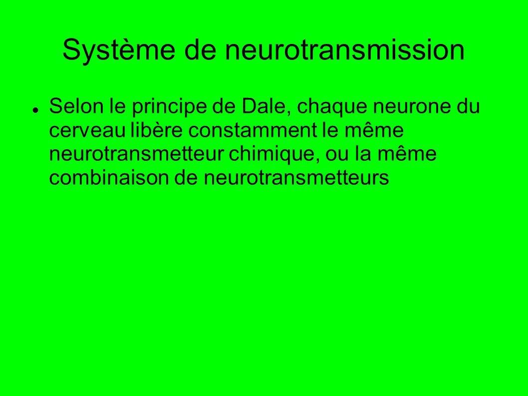 Système de neurotransmission