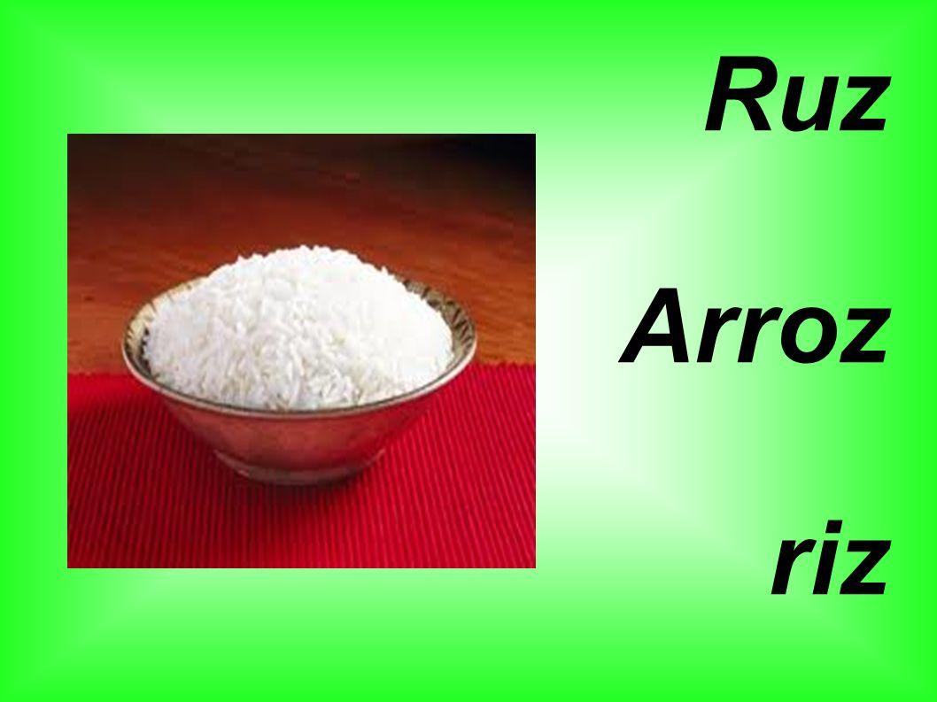 Ruz Arroz riz