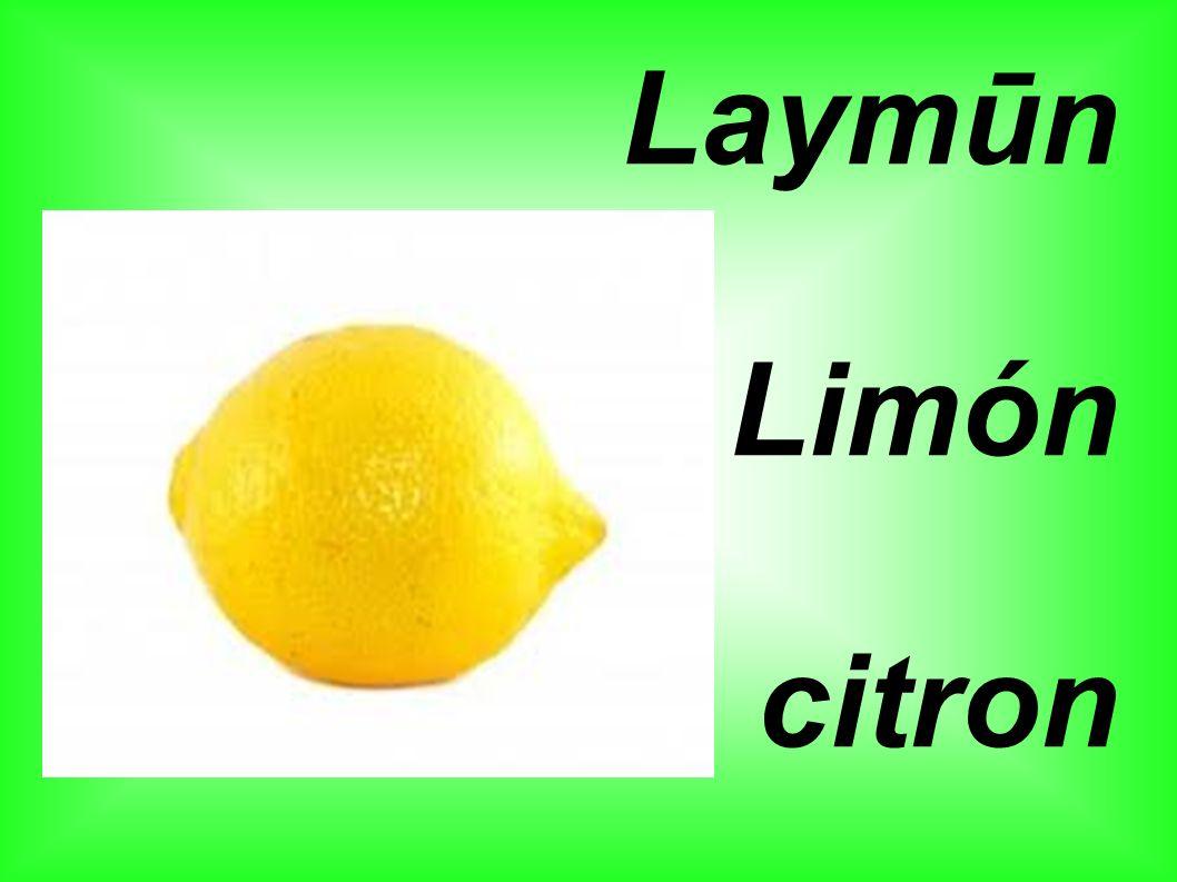 Laymūn Limón citron
