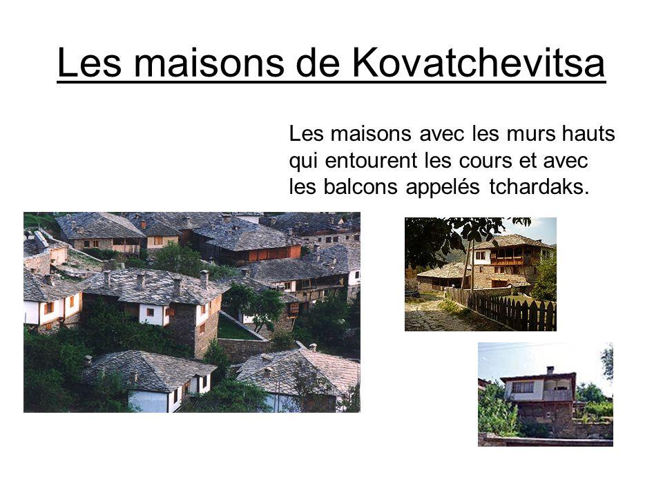 Les maisons de Kovatchevitsa