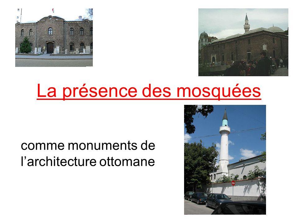 La présence des mosquées
