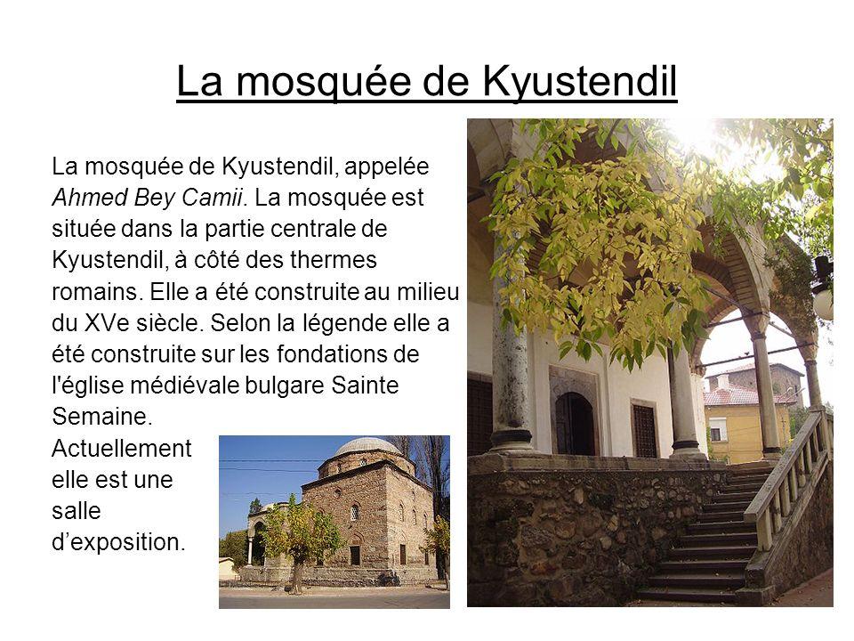 La mosquée de Kyustendil
