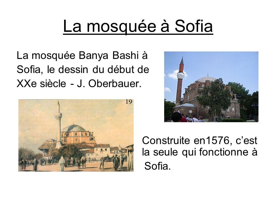 La mosquée à Sofia La mosquée Banya Bashi à