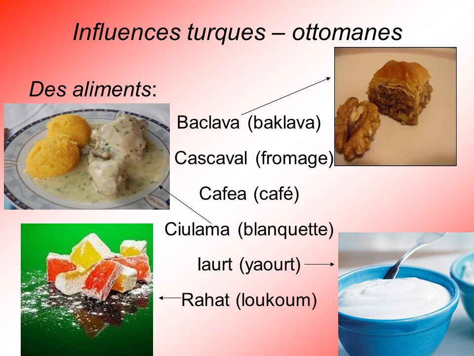 Influences turques – ottomanes