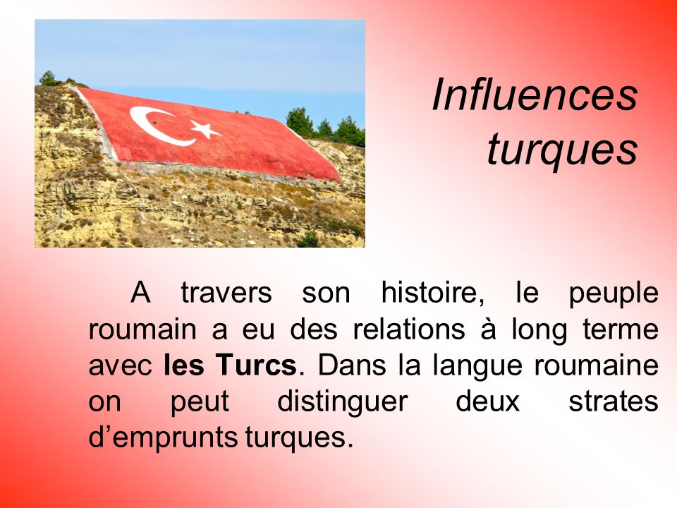Influences turques