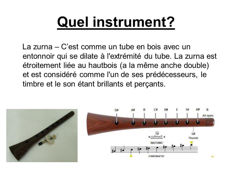 Quel instrument
