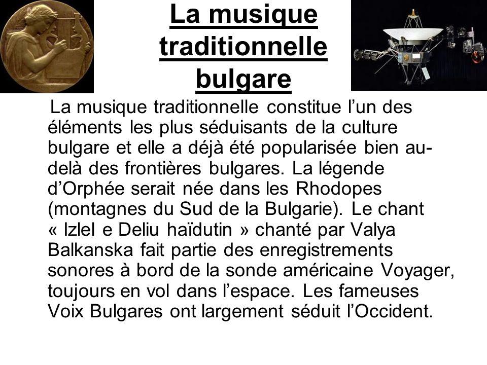 La musique traditionnelle bulgare