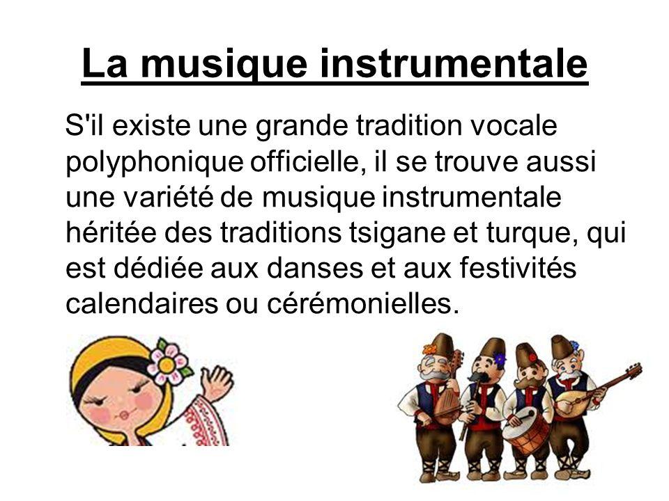 La musique instrumentale