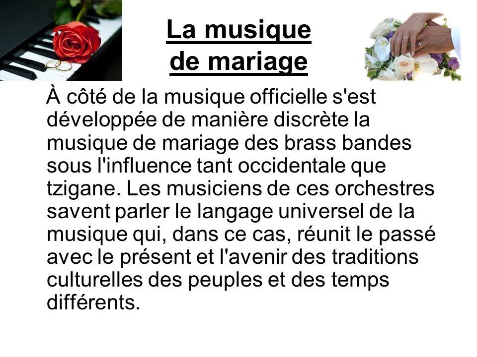 La musique de mariage