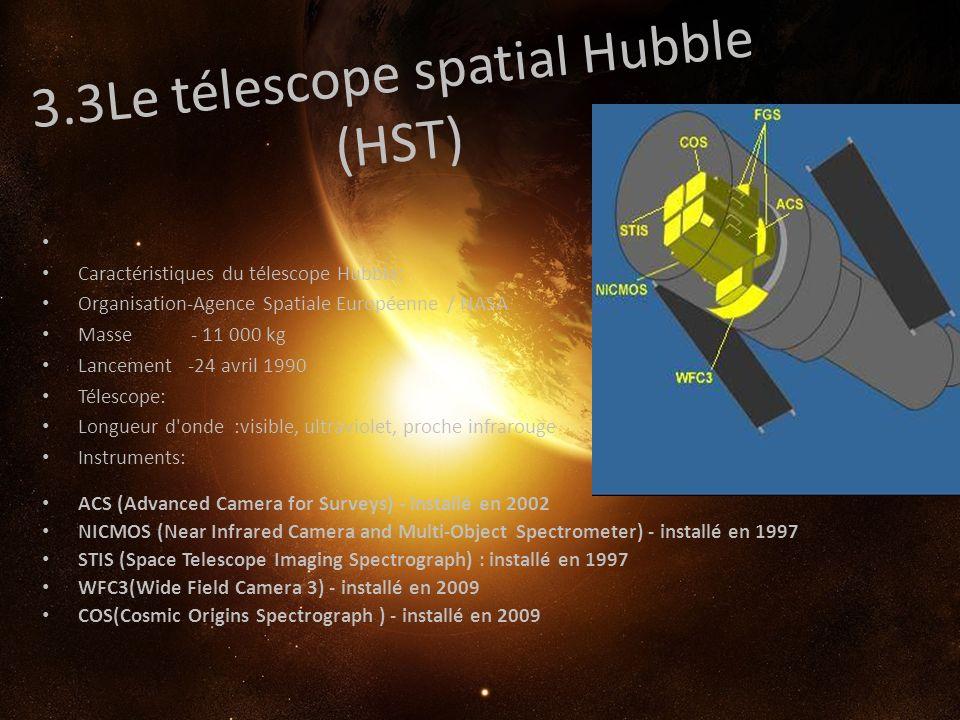 3.3Le télescope spatial Hubble (HST)