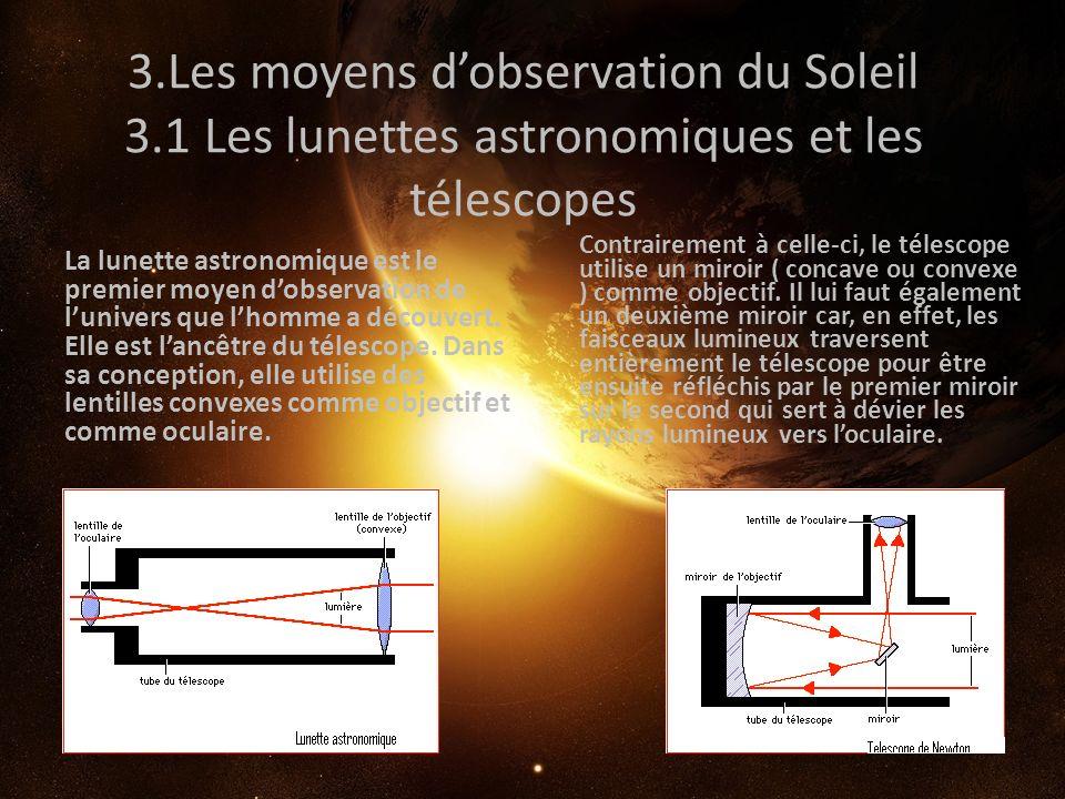 3. Les moyens d'observation du Soleil 3