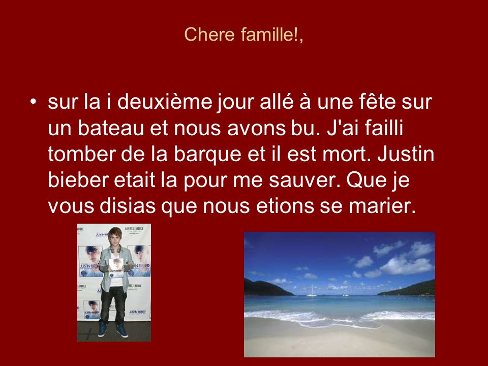 Chere famille!,