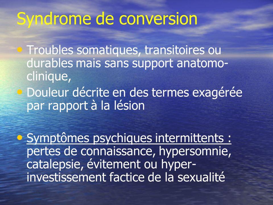 Syndrome de conversion