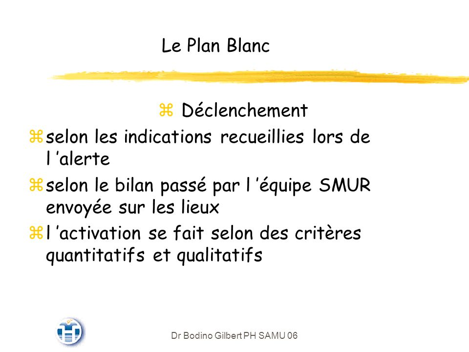 Dr Bodino Gilbert PH SAMU 06