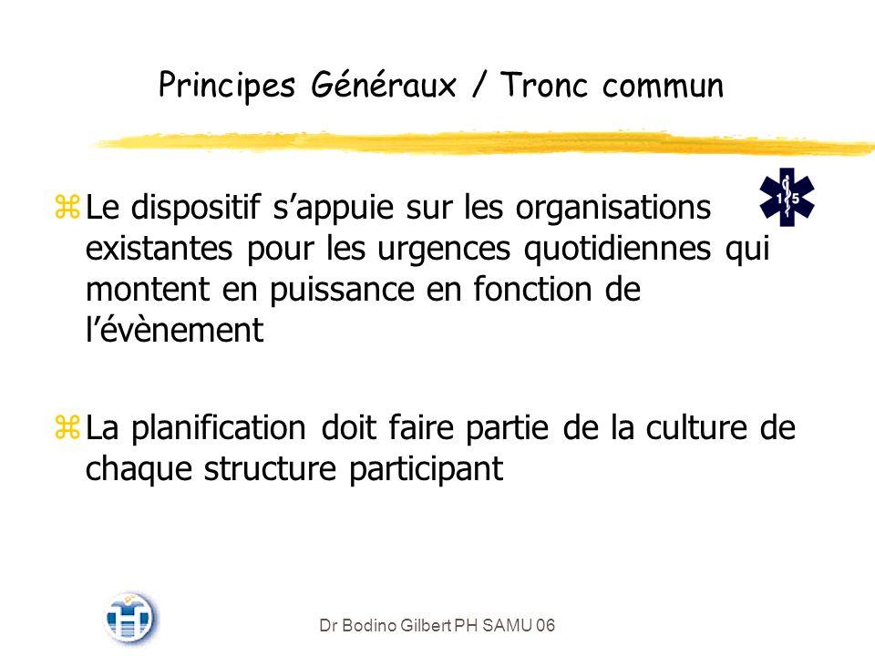 Principes Généraux / Tronc commun