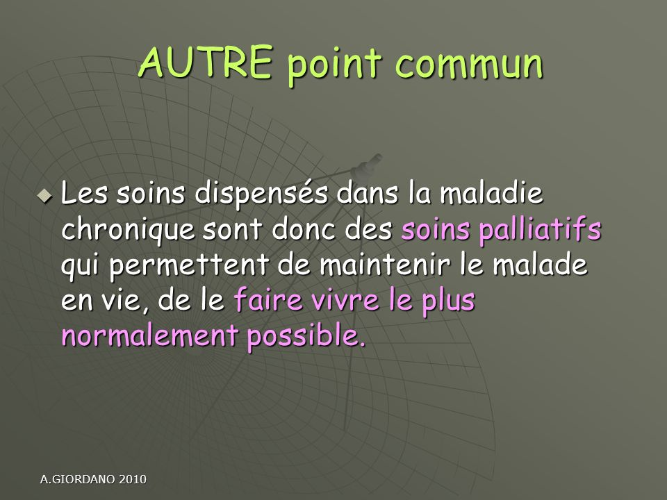 AUTRE point commun
