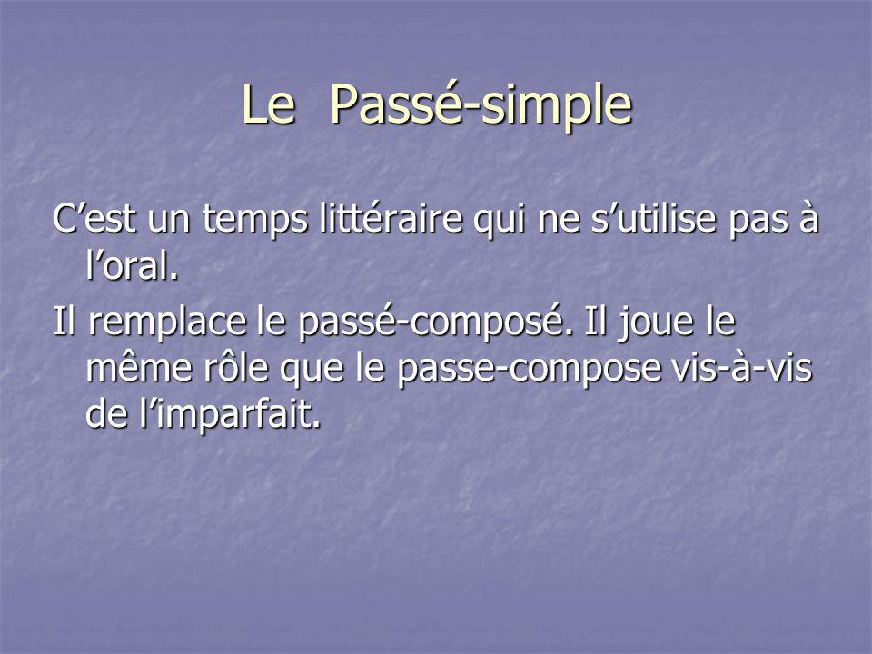 Le Passé-simple
