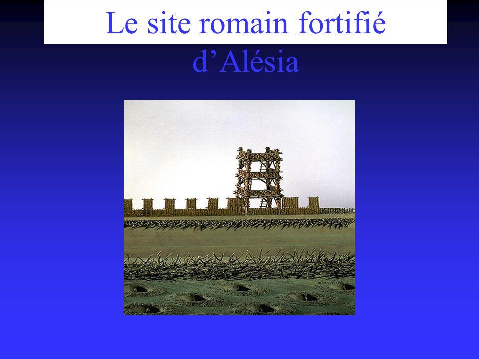 Le site romain fortifié d'Alésia