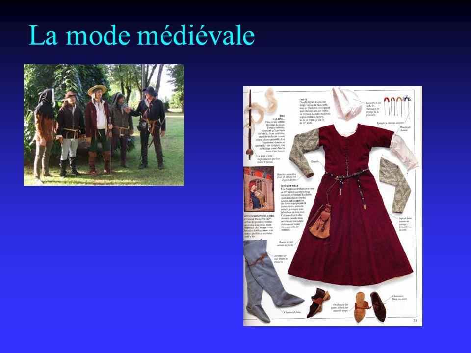 La mode médiévale