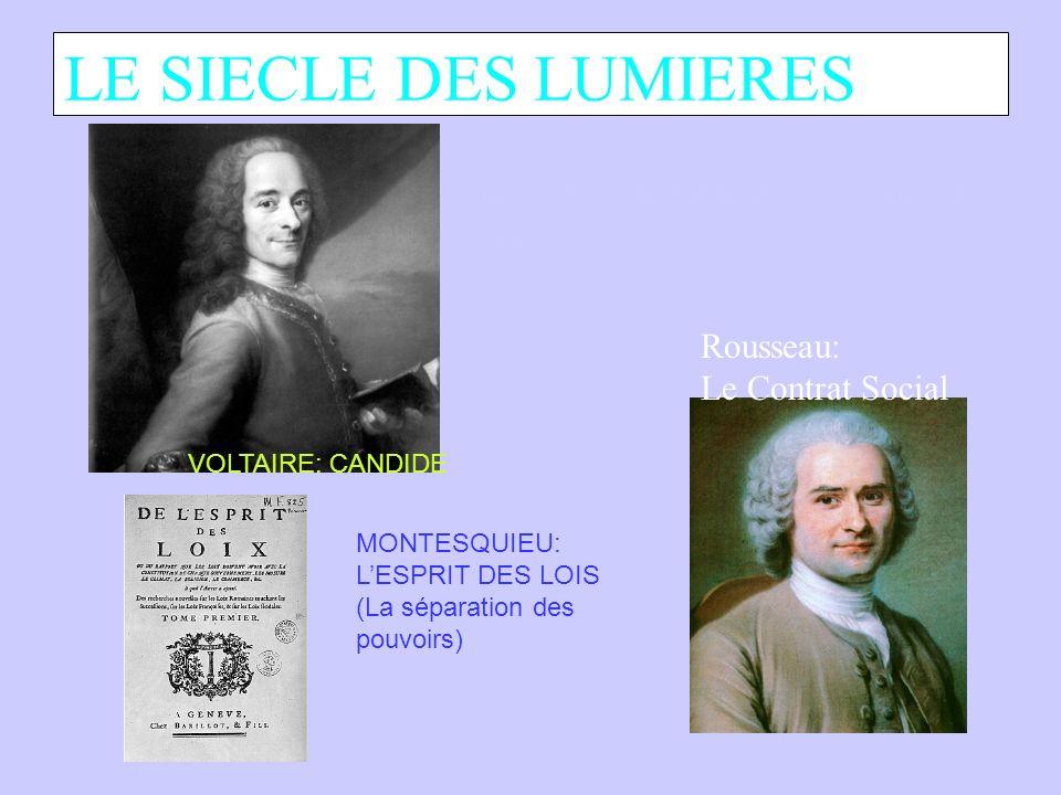 LE SIECLE DES LUMIERES Site web de la bibliothèque nationale de France