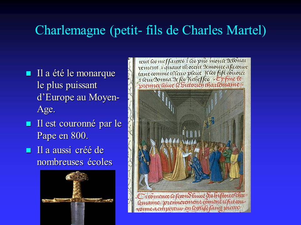 Charlemagne (petit- fils de Charles Martel)