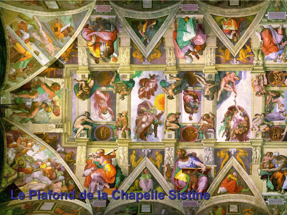 Le Plafond de la Chapelle Sistine