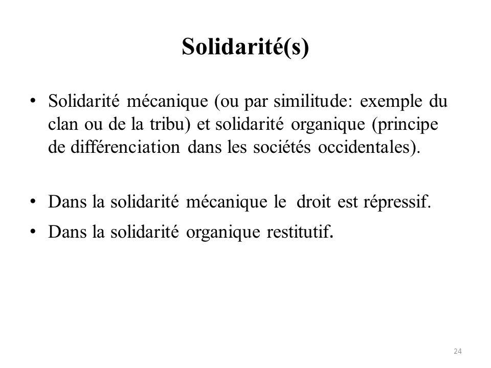 Solidarité(s)