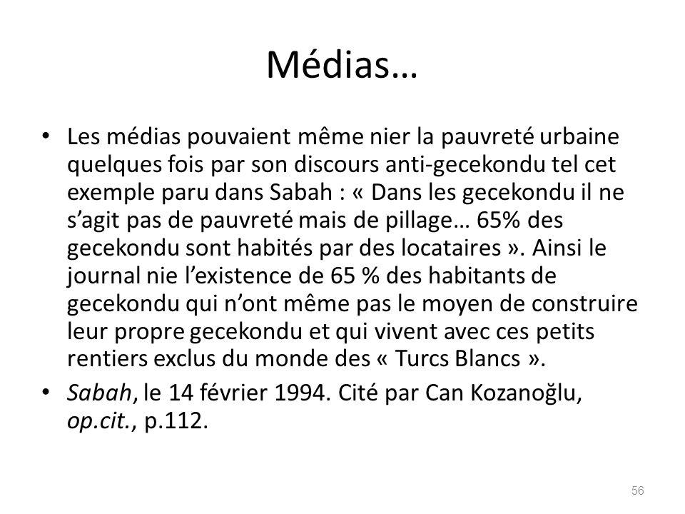 Médias…