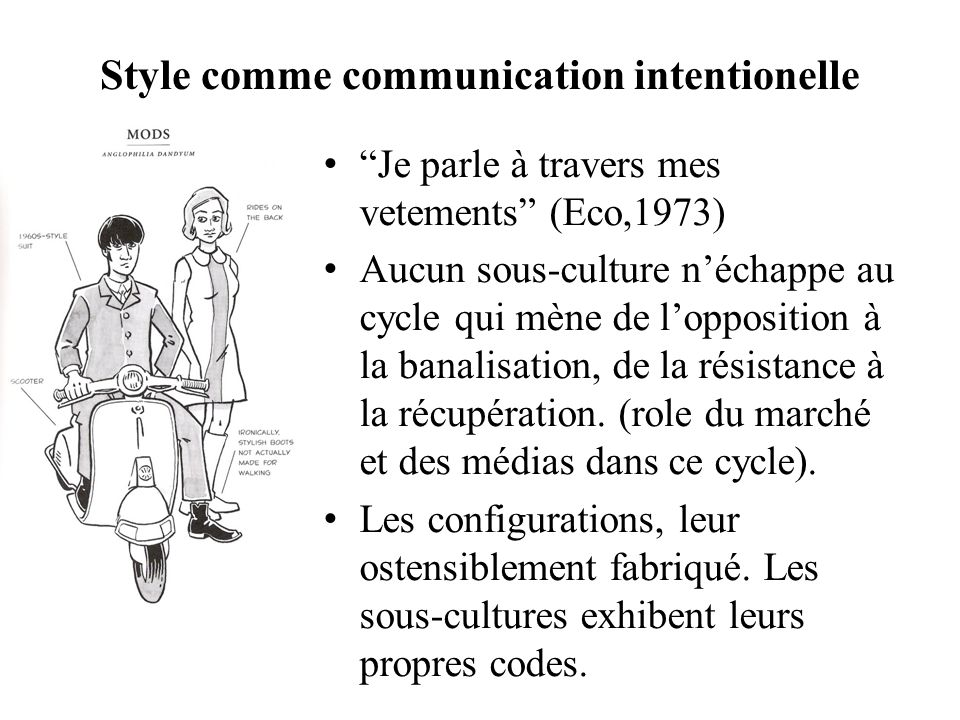 Style comme communication intentionelle